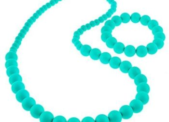 Turquoise Baby Teething Necklaces