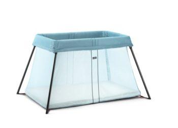 Turquoise Travel Crib