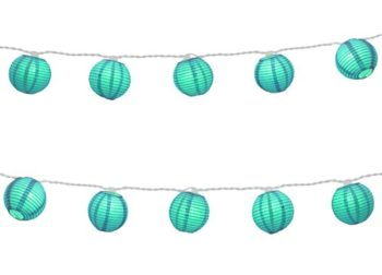 Turquoise String Lights