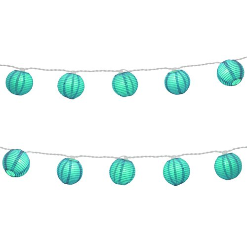 turquoise-string-lights