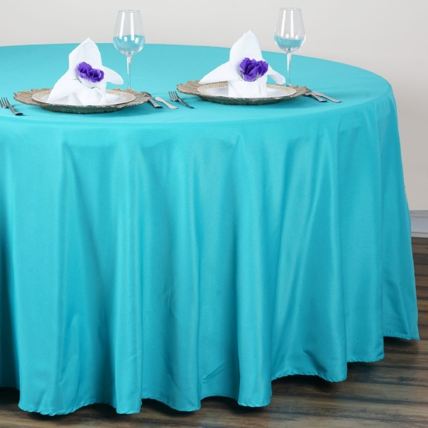 turquoise-tablecloth